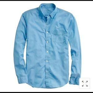 NWT J. Crew chambray shirt XS